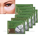 WindMax Pack of 50 Pairs Collagen Crystal Eye Mask Eyelid Under Patch Deep Moisture Anti Wrinkle Salon Beauty Tools
