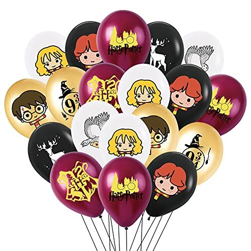 Harry Potter Globos, 40 pcs Cumpleaños Decoracion, Suministros de Decoración de Fiesta...