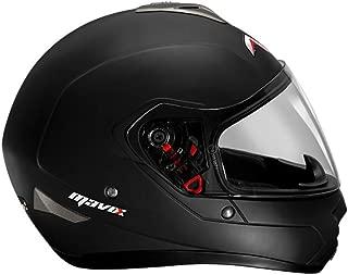 MAVOX FX21 570 Full Face Helmet (Matt Black, 570 mm)