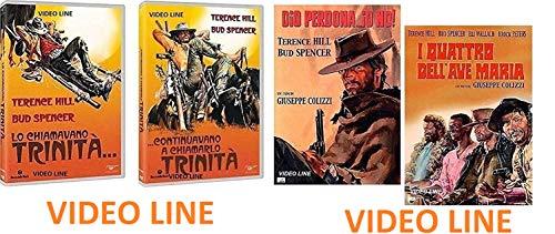 Lo Chiamavano Trinita' Continuavano a chiamarlo Trinita' (2 Film) Dio Perdona I Quattro dell'Ave Maria (2 Fim) Edizione Italiana