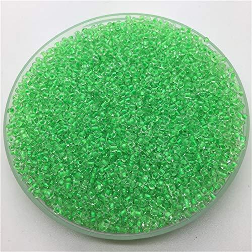SAHFV 1000pcs / Lot 15g 2mm Charm Transparente CHECH CHECH GRANTE Grandes DE Pulsera DIY Collar (Color : 66)