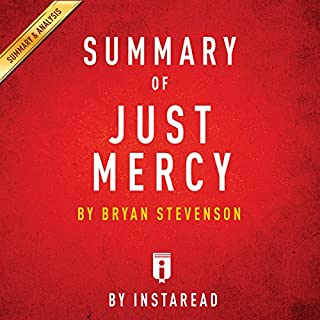 Summary of Just Mercy, by Bryan Stevenson | Includes Analysis audiobook cover art