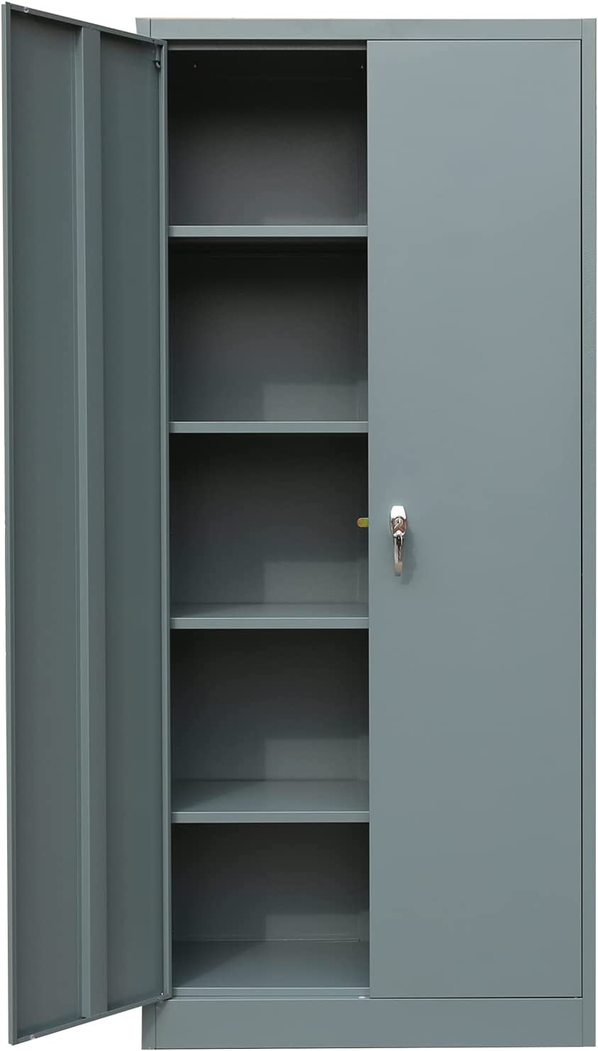 famous BESFUR OFFicial Metal Storage Cabinet with 2 and Shelves Doors Lockabl 4