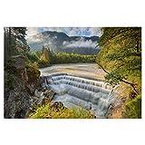 artboxONE Poster 45x30 cm Natur Lechfall bei Füssen im