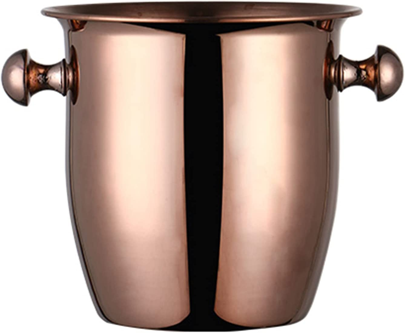 2021 new Stainless Steel Double Layer Ice with Bucket And Tongs List price Binaural