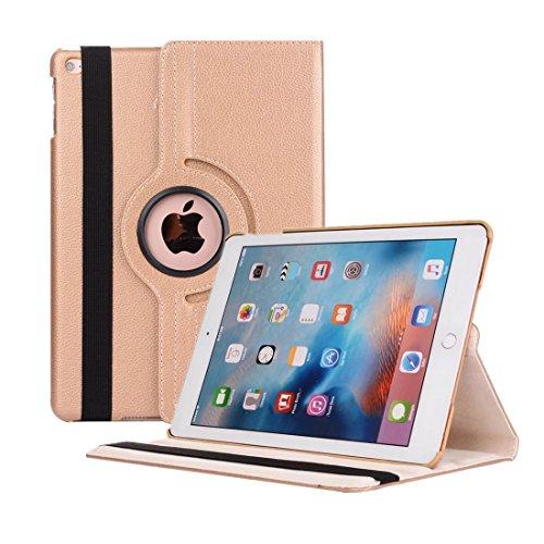 iPad Pro 12.9 2017 Hülle, Avril Tian 360 Grad Drehbar Multi Winkel Bildschirm Schutz Flip Folio Stand Smart Schutzhülle Case Cover für Apple iPad Pro 12.9 Zoll 2017 Released Tablette