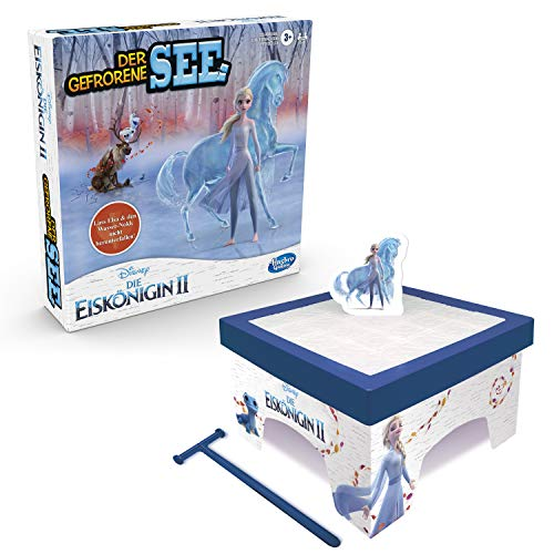 Hasbro C2093100 Disney Die Eiskönigin Der gefrorene See Disney Die Eiskönigin II, Spiel für Kinder ab 3 Jahren, mit Elsa und dem Wasser-Nokk