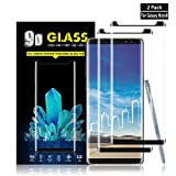 Galaxy Note 8 Screen Protector By YEYEBF, [2 Pack] Full Coverage...