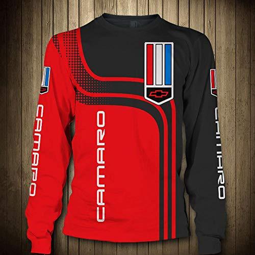 Sweatshirts Hoodie Pullover - CAMARO 3D Printed Unisex Langarm-Kapuzenjacke Sport Frühlings-T-Shirt-Oberbekleidung - Teens Geschenk Long Sleeve Tops-XXXXL