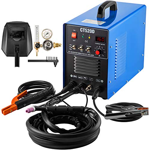 Mophorn TIG/MMA Plasma Cutter CT520D 3 in 1 Combo...