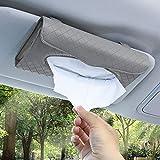 Accmor Car Visor Tissue Holder, Sun Visor Napkin Holder Backseat Tissue Case, PU Leather...
