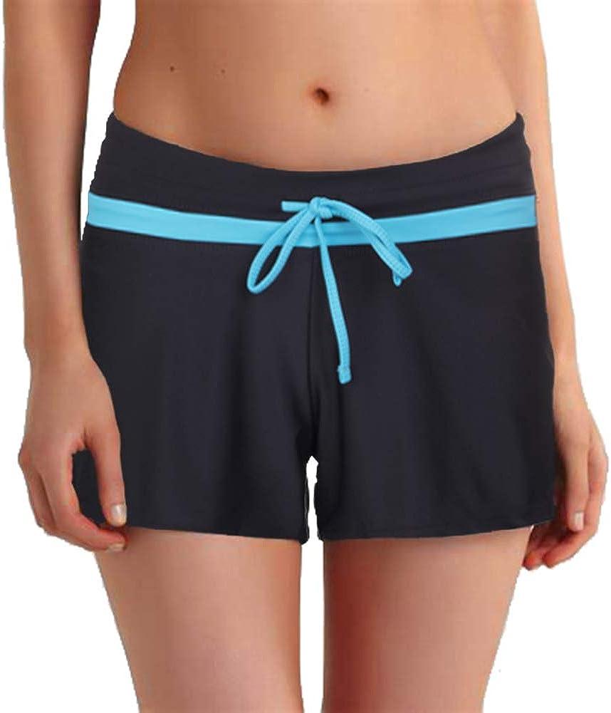 Lelinta Women Swimsuit Shorts Tankini Swim Briefs Sports Bottom Boardshort Summer Beach Swimwear Trunks