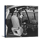 ハワード・ヒューズin Spruce Goose Wooden Plane写真 36 x 24 Gallery Canvas LANT-3P-SC-2972-24x36