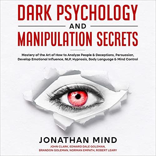 『Dark Psychology and Manipulation Secrets』のカバーアート