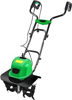 QILIN Electric Garden Tiller/Cultivator, Corded Tiller/Cultivator, Power: 1500W, Maximum Tillage Width: 460MM, Multiple Co...