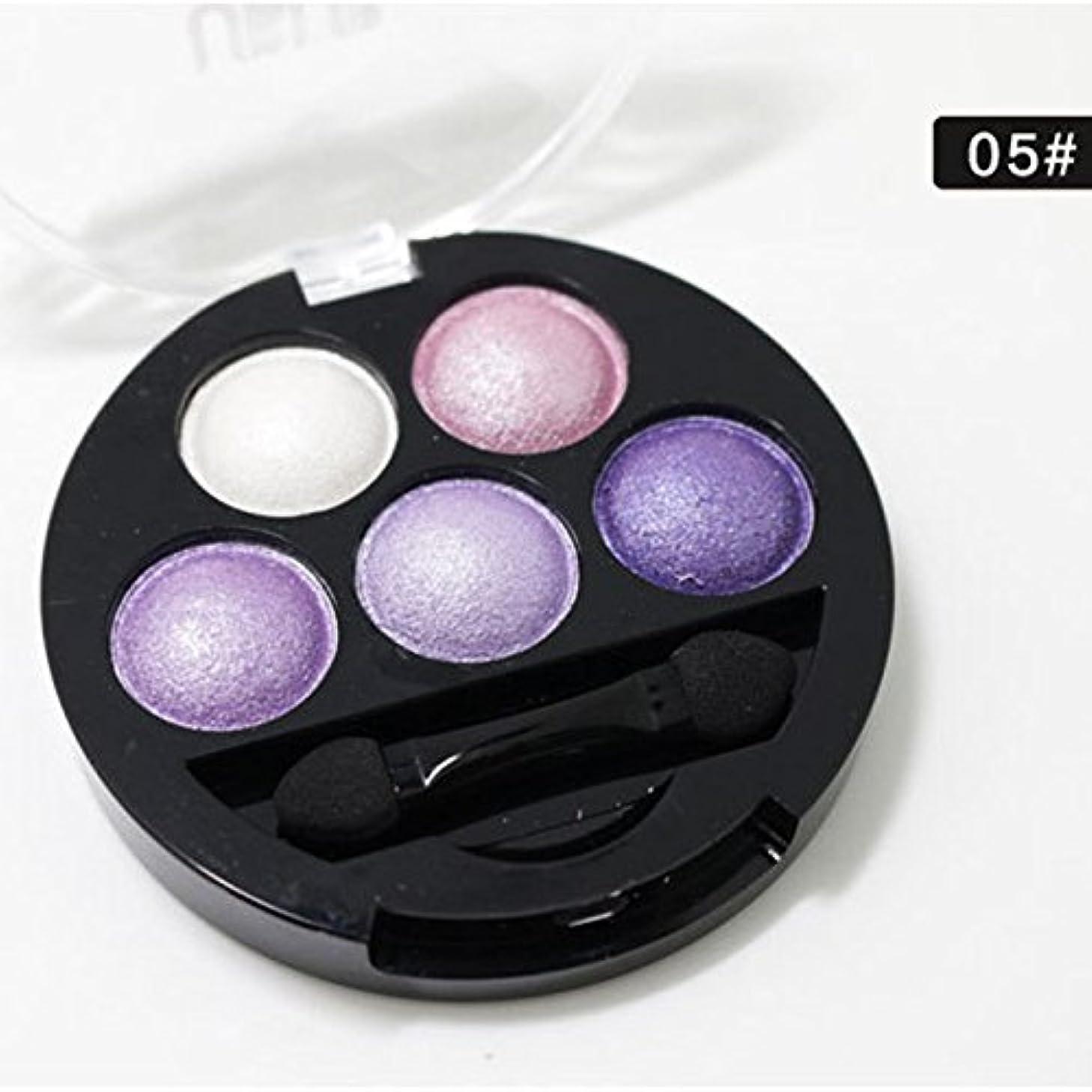 暴君複製する幸福Symboat 5色 キラキラ アイシャドウパレット レインボー ダイヤモンドプレス アイシャドウ 化粧品 メイクアップツール 高発色 携帯用 韓国風