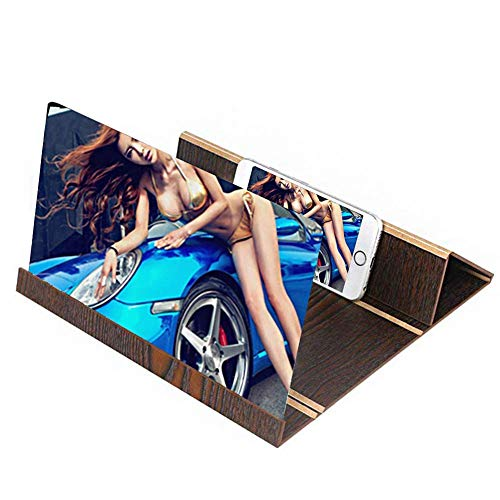 Leeselup scherm vergrootglas, opvouwbaar, het beste vergrootglas is ideaal voor mensen om films en berichten, ultraheldere lenzen, geschikt voor Apple en de meeste audiosystemen Android