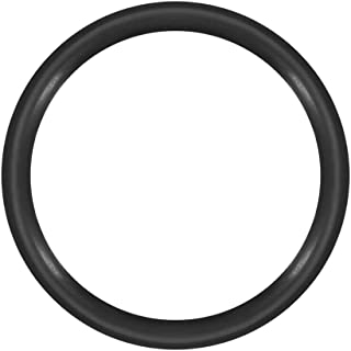 uxcell O-Rings Nitrile Rubber, 10mm Inner Diameter, 12mm OD, 1mm Width, Round Seal Gasket Pack of 50
