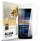 AYSOW Protector de Pantalla para Sony Xperia L3, 9H Dureza Película de Vidrio Templado HD Antihuellas sin Burbujas Fácil de Instalar, Protector de Vidrio para Sony Xperia L3 [2 Pcs]
