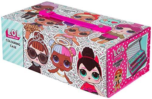 L.O.L. Surprise! Maletín Infantil Rosa De Pinturas con 52 Piezas | Juguetes Infantiles para Niños Y Niñas | Kit para…