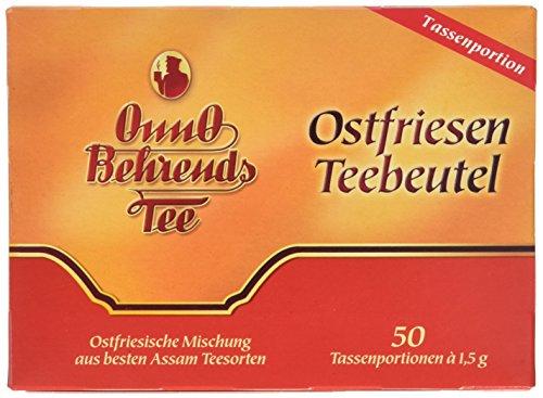 Onno Behrends Tee Ostfriesen Teebeutel, 6er Pack (6 x 50 x 1,5 g Packung)
