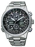 Citizen JY8020-52E - Reloj de Cuarzo para Hombre, Correa de Titanio Multicolor
