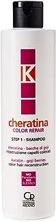 K-Cheratina - Color Repair Shampoo con Cheratina - Ricostruzione a Base di Cheratina per Capelli Colorati e Decolorati - F...