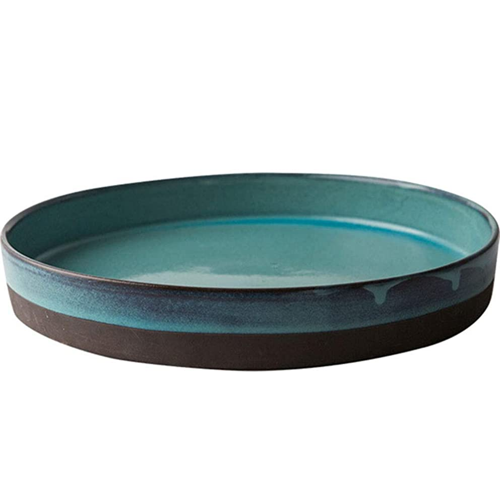 Comport Kitchen Ceramic Fruit Bowl, Living Room Decoration Candy Dish, Snack Tray