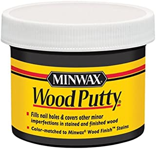 Minwax 13618000 Wood Putty, 3.75 Ounce, Ebony