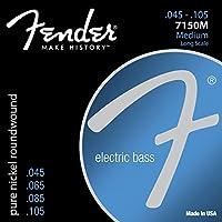Fender Bass Strings Pure Nickel 7150M 45-105 エレキベース弦×2セット