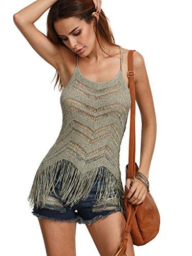 crochet back tank - 1