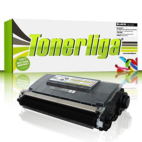 Neu Toner ersetzt Brother TN 3380 / TN3380 für HL-5450DN / MFC-8510DN / MFC-8520DN / DCP-8110DN / MFC-8515DN / MFC-8710DW / MFC-8810DW, schwarz, 100% Neuware