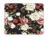 Seamless floral pattern with peony Mouse Pad mouse mouse pad Mouse Pad Pad Office Mouse Pad Gaming Mouse Pad Mat Mouse Pad mousepad Dimension: 9.5' x 7.9'