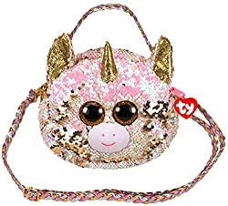 Beanie Boo Handbag With Pink Color Changing Reverisble Sequins