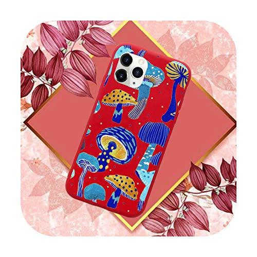 Cute Cartoon Setas arte teléfono caso color caramelo para iPhone 11 12 mini pro XS MAX 8 7 6 6S Plus X SE 2020 XR-a2-iphone7or8