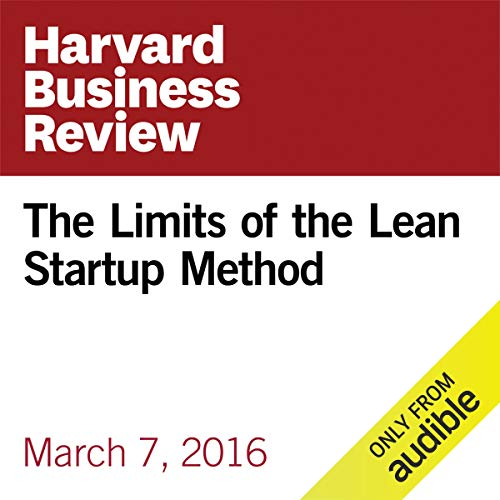 The Limits of the Lean Startup Method copertina