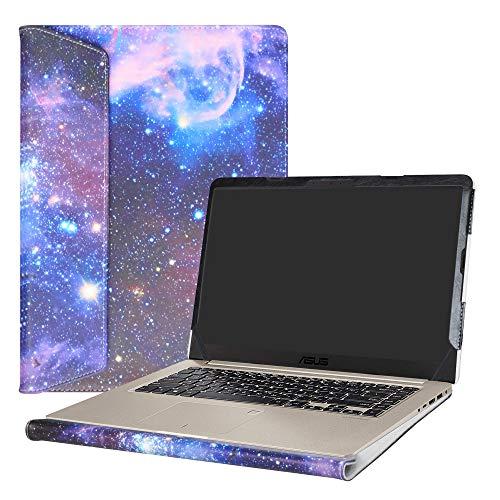 """Alapmk Specialmente Progettato PU Custodia Protettiva in Pelle per 15.6"""" ASUS VivoBook S15 S510 S510UA S510UQ S510UN F510UA X510UQ Series Notebook,Galaxy"""
