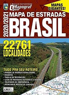 Mapa de Estradas Brasil 2020/2021