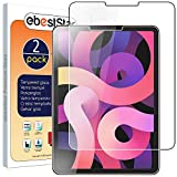 ebestStar - [Lote x2 Cristal Templado Compatible con iPad Air (2020) 10.9, iPad Air 4 Protector de Pantalla, Película Vidrio Ultrafina, Dureza 9H, Sin-Burbujas [iPad: 247.6 x 178.5 x 6.1 mm, 10.9'']