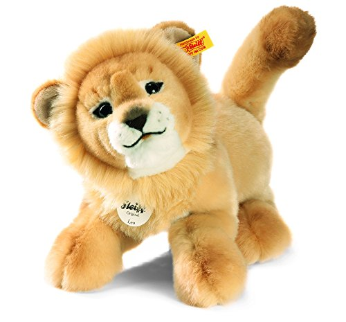 Steiff 065651 - Leo Baby Schlenker Löwe 28 cm, blond