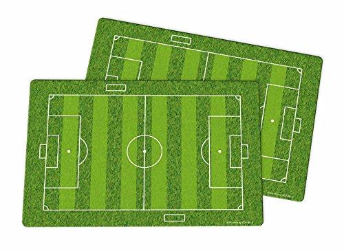 infinite by GEDA LABELS Spielfeld 2er Set 43x29cm Platzset 2-teilig, Kunststoff, Grün, 43 x 29 x 0,2 cm, 2-Einheiten