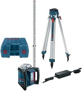 Bosch GRL500HCK-RT Self-Leveling Horizontal Rotary Laser Kit (Certified Refurbished)