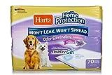 Hartz Home Protection Lavender Scented Odor Eliminating Gel Dog Pads - 70 Count