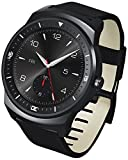 LG G Watch R - Smartwatch Android (pantalla 1.3', 4 GB, 1.2 GHz, 512 MB RAM), negro