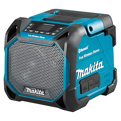 Makita DMR203 DMR203-Altavoz 12 V CXT/18 V LXT Bluetooth-IP64, 18 V, Negro, 436 mm