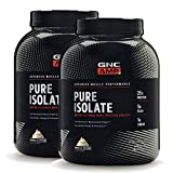 GNC AMP Pure Isolate - Vanilla, Twin Pack, 70 Servings Each, 25 Grams of Whey Protein Isolate