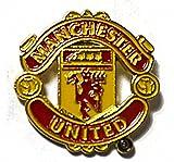 Pin / Anstecker mit Fußballmanschafts-Wappen, offizieller Fußball-Fan-Artikel, verschiedene Mannschaften verfügbar In offizieller Verpackung Man Utd FC Pin Badge
