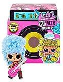 Remix LOL Surprise Hair Flip Coleccionable, 15 Sorpresas, con Cabello a Revelar, Accesorios y Música