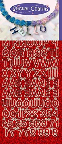 Stickercharms 3.9939 1-delige ABC-sticker voor Loom - 123