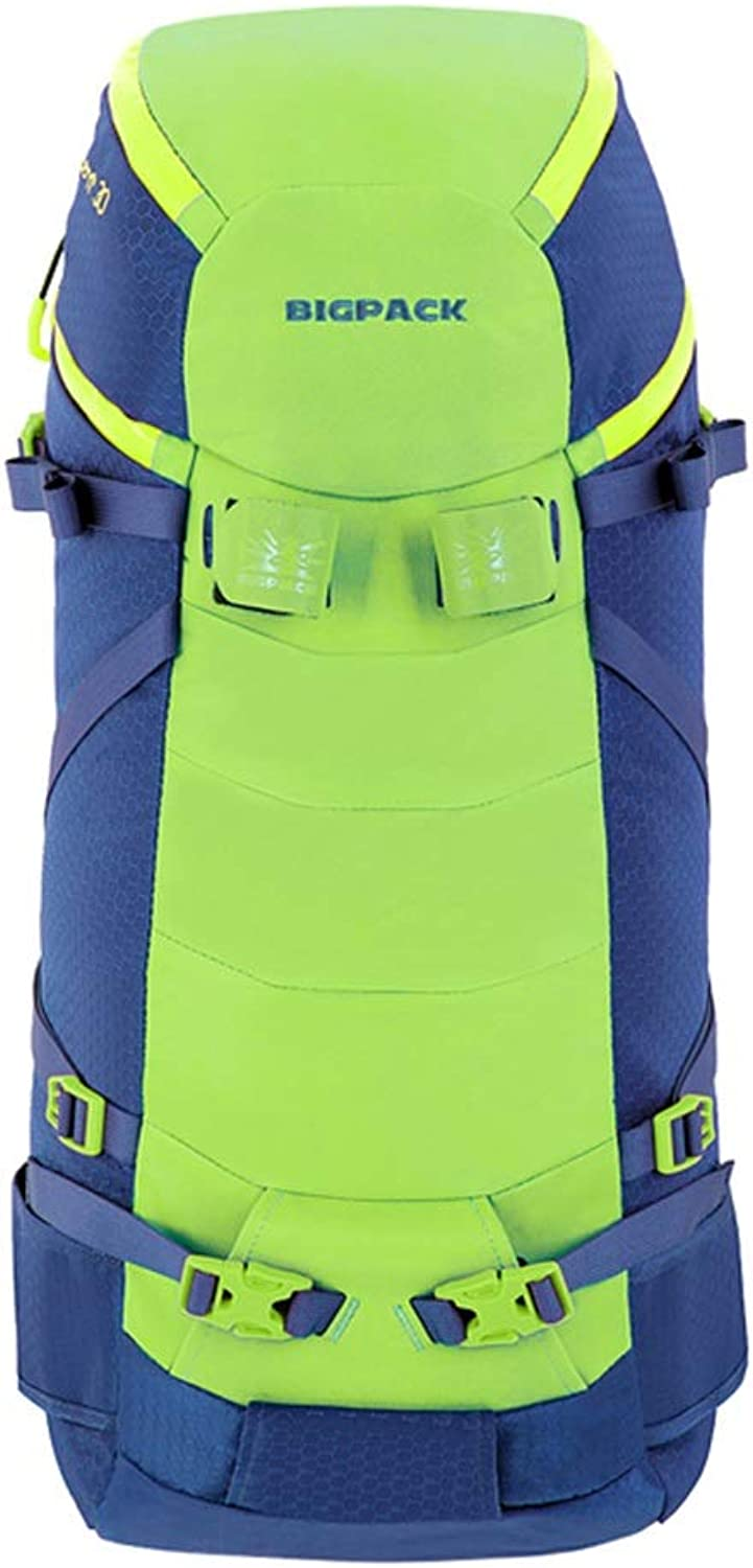 LXFMD Men and Women Outdoor Hiking Mountaineering Bag Travel Backpack wear 35 45L